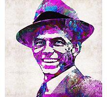 Frank Sinatra Art - Pink Sinatra - By Sharon Cummings Photographic Print