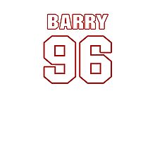 NFL Player Barry Cofield ninetysix 96 Photographic Print