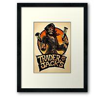 The Pirate Trader Jack Framed Print