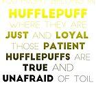 Hufflepuff Gradient by Connie Yu