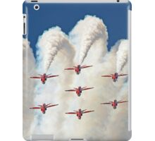 Red White And Blue !! Total Perfection !! The Red Arrows Farnborough 2014 !!  iPad Case/Skin