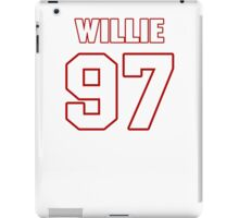 NFL Player Willie Young ninetyseven 97 iPad Case/Skin