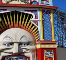 Luna Park Sticker