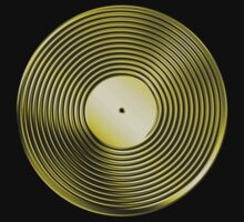 Vinyl LP Record - Metallic - Gold by graphix