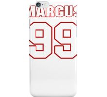 NFL Player Margus Hunt ninetynine 99 iPhone Case/Skin