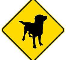 Labrador Retriever Crossing by kwg2200
