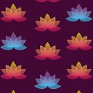 Lotus Pattern by Christina McEwen