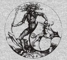Medieval Wild Man or Green Man by Pixelchicken