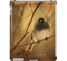 Backlit Birdie Being Buffeted iPad Case/Skin