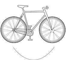 It's a bird, It's a plane, It's a Smiling Bike! by milostees