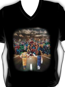 Sayajins vs Marvel's Heroes T-Shirt