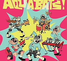 The Aquabats! Super Print! by Sara Peck