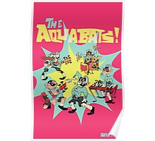 The Aquabats! Super Print! Poster