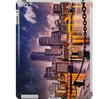 Skyline of Boston Harbor  iPad Case/Skin
