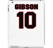 NFL Player Brandon Gibson ten 10 iPad Case/Skin