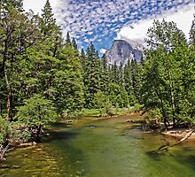 Upstream from Sentinel Bridge - Yosemite Valley California USA by TonyCrehan