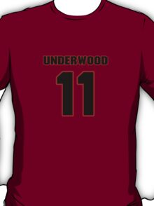 NFL Player Tiquan Underwood eleven 11 T-Shirt