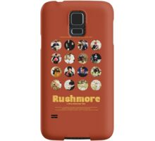 Rushmore featuring the many faces of Max Fischer Samsung Galaxy Case/Skin