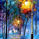 Light Of Luck — Buy Now Link - www.etsy.com/listing/210092016 by Leonid  Afremov