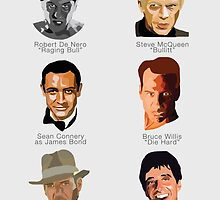 Cinema's Greatest Men by wakingup