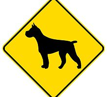 Pit Bull Crossing by kwg2200