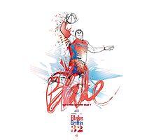 Blake Griffin - NBA- LA CLIPPERS Photographic Print
