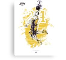 Kobe Bryant tribute Canvas Print