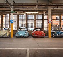 VW Beetle Bus Camper Classics by RossJukesAuto