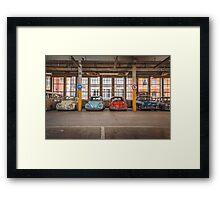 VW Beetle Bus Camper Classics Framed Print