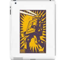 Purple Robot iPad Case/Skin