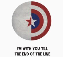 Cap and Bucky Black Text by dftba-