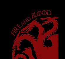 """Fire and Blood"" - House Targaryen by xipher"