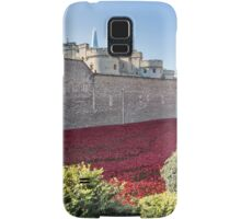 Tower Of London Poppies Samsung Galaxy Case/Skin