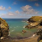Tintagel, Cornwall, England, UK by Justin Mitchell