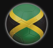 Jamaica - Jamaican Flag - Football or Soccer 2 Kids Clothes
