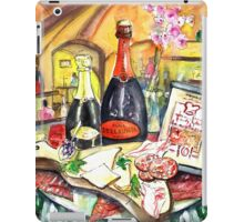 Degustation In Bergamo iPad Case/Skin