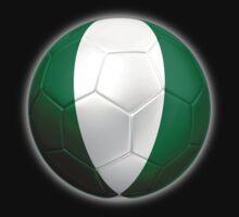 Nigeria - Nigerian Flag - Football or Soccer 2 by graphix