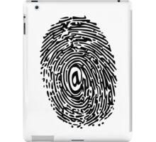 DIGITAL THUMBPRINT iPad Case/Skin