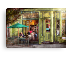 Cafe - Hoboken, NJ - Empire Coffee & Tea Canvas Print
