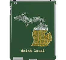 Drink Local (MI) iPad Case/Skin