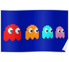 pacman-ghosts Poster