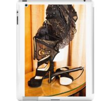Corset, Heels and a Baton iPad Case/Skin