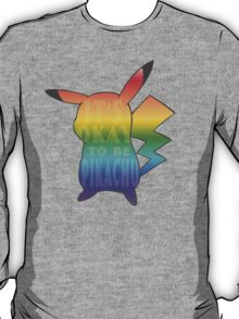 It's ok to be pikachu T-Shirt