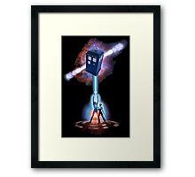TARDIS TRON Framed Print