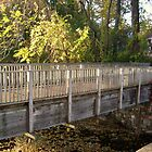 Footbridge Over the Pocantico River by Jane Neill-Hancock
