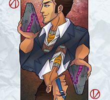 Handsome Jack card by NikaLagann