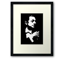 William Powell Is Cool Framed Print