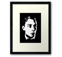 Buster Keaton Stares Off In The Distance Framed Print