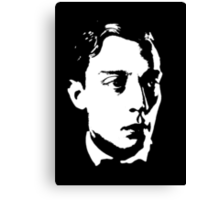Buster Keaton Stares Off In The Distance Canvas Print
