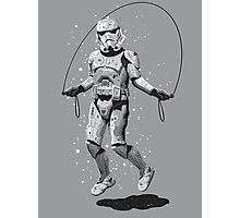 STORMTROOPER SKIPPING Photographic Print